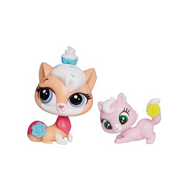 Littlest Pet Shop Pet Pawsabilities Sugar Sprinkles & Ripley Davis