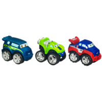 TONKA CHUCK & FRIENDS Racing Trucks (RALLY THE RELAY RIG, SOKU THE CRUISER, FLIP THE RACE TRUCK)