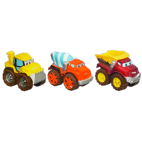 TONKA CHUCK & FRIENDS Construction Team Die Cast Trucks (CHUCK THE DUMP TRUCK, DIGGER THE DOZER, PORTER THE CEMENT TRUCK)