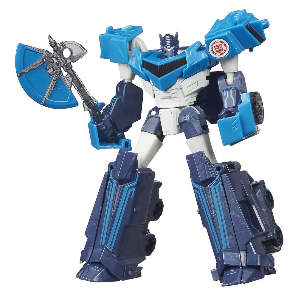 Transformers Robots in Disguise Warrior Class Blizzard Strike Optimus Prime Figure