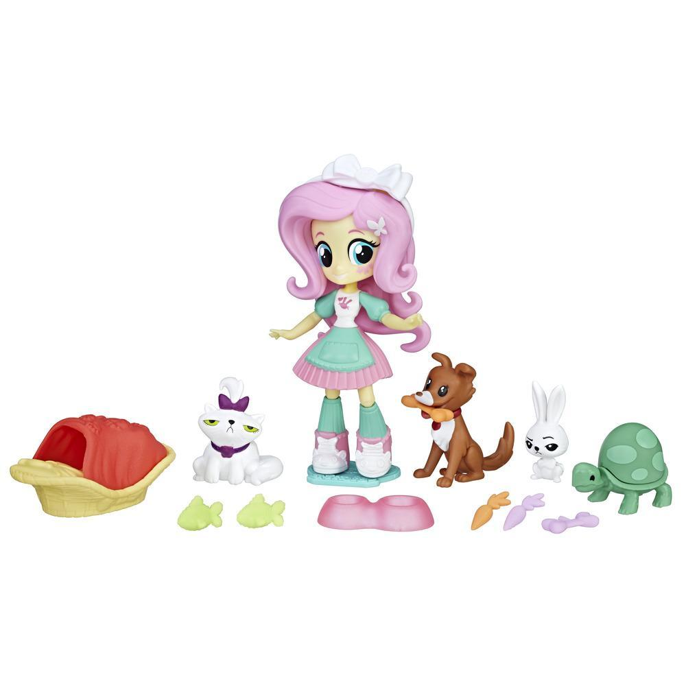 My Little Pony Equestria Girls Fluttershy Pet Spa Set