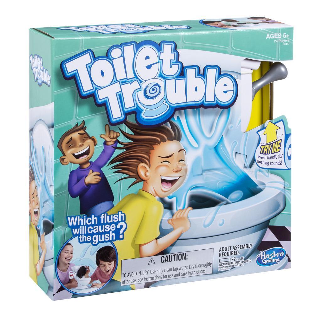 Toilet Trouble Game