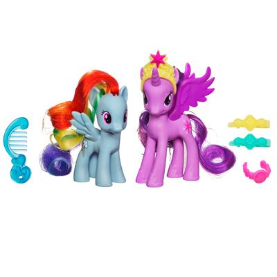 My Little Pony Princess Twilight Sparkle & Rainbow Dash Figures
