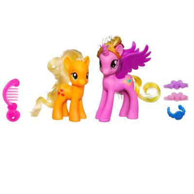 My Little Pony Princess Cadance & Applejack Figures