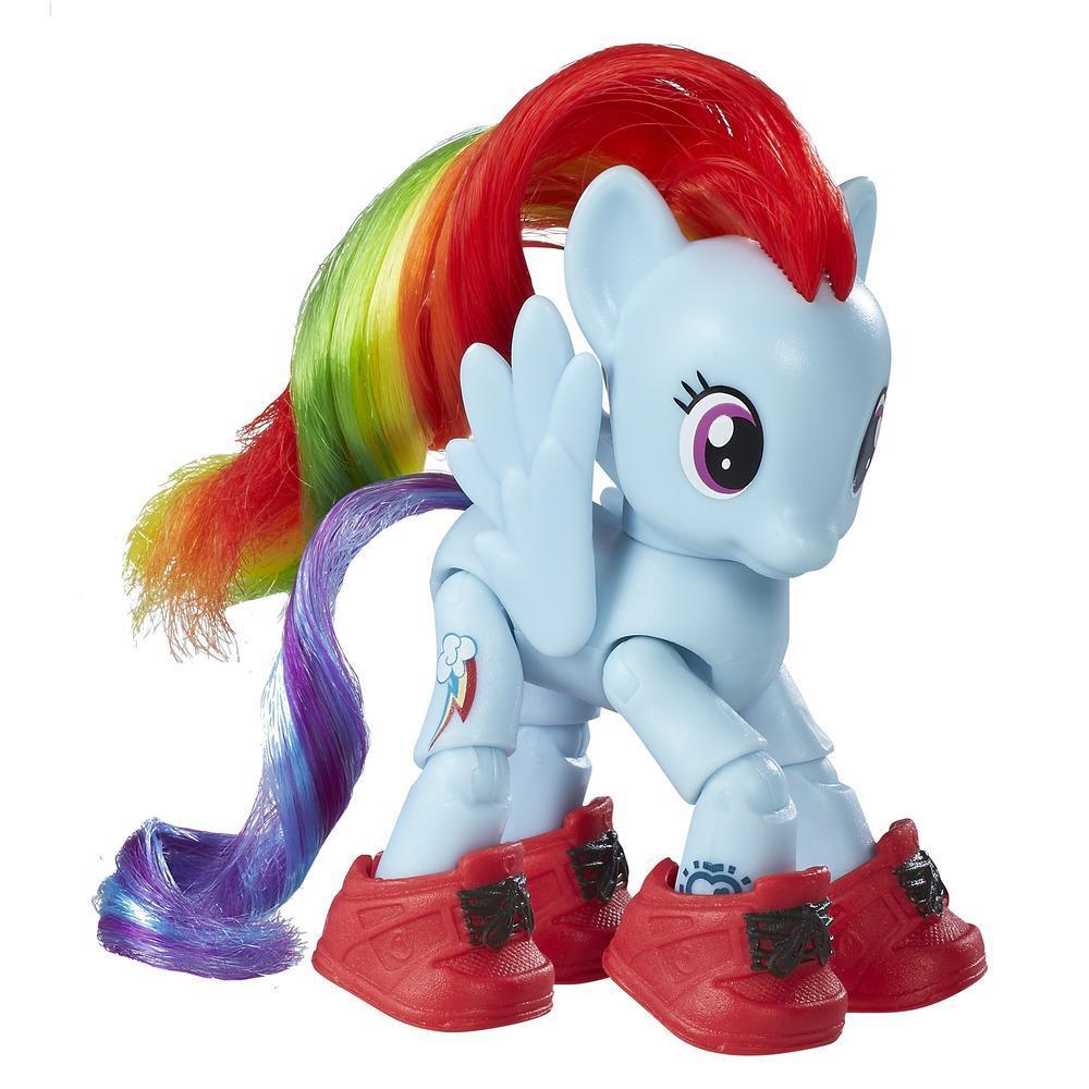 My Little Pony Friendship is Magic Rainbow Dash Sightseeing Figure