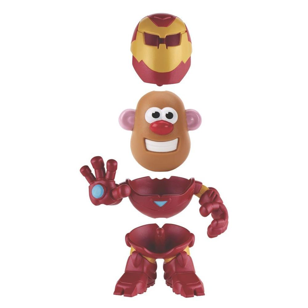 Playskool Friends Mr. Potato Head Marvel - Figura Combinações Iron Man