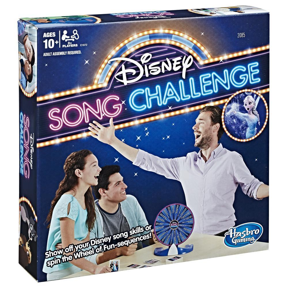 Desafío de canciones Disney