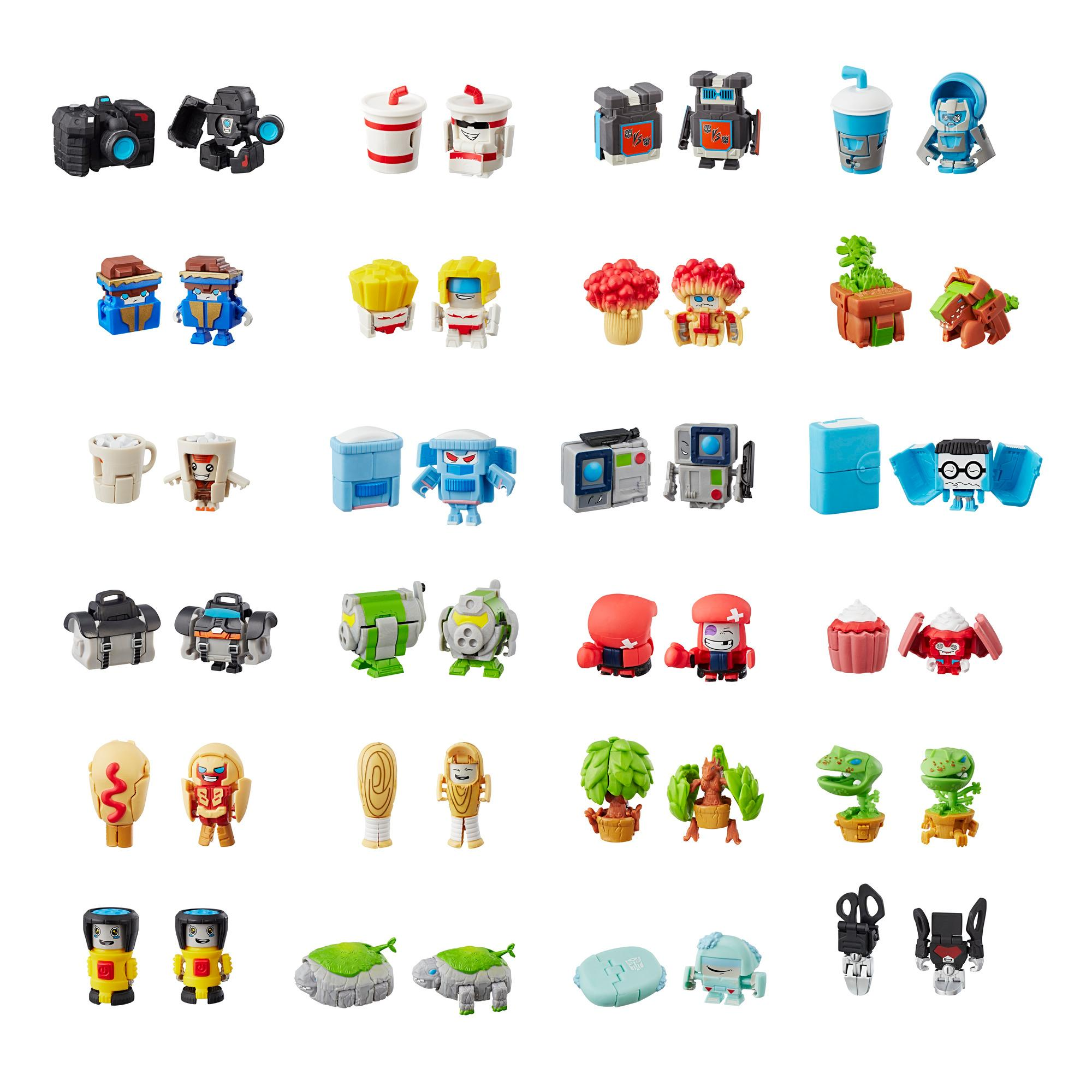 Transformers BotBots Serie 1 Figura misterio coleccionable de empaque sorpresa --  ¡Juguete sorpresa 2 en 1!