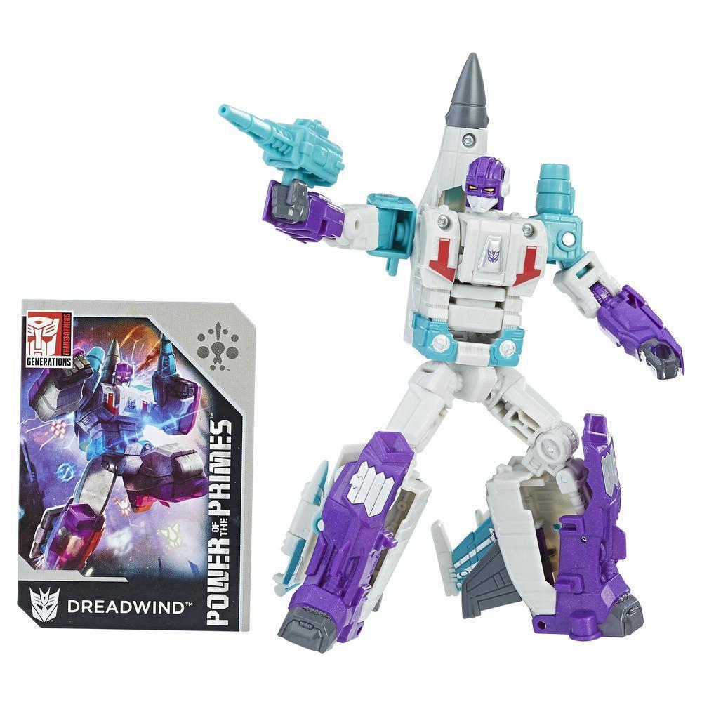Transformers: Generations -  Poder de los Primes - clase de lujo - Dreadwind