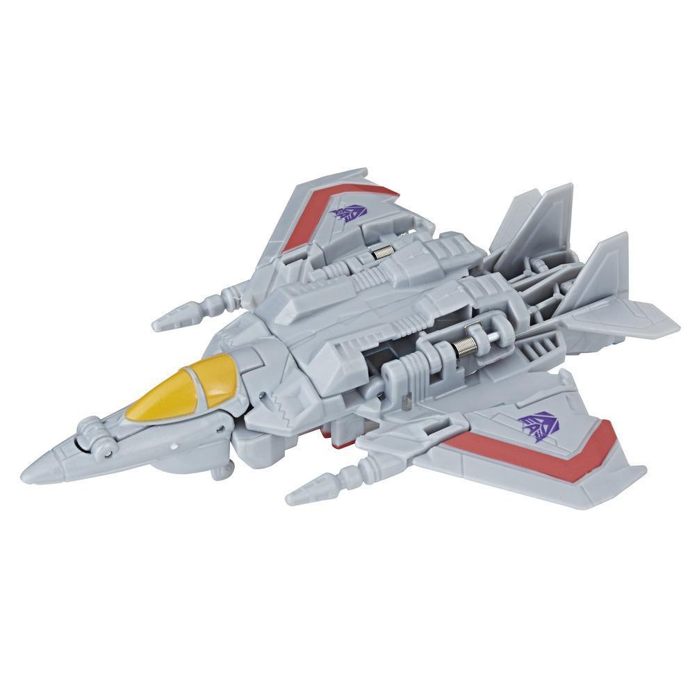 Transformers Cyberverse - Starscream Cambiador de 1 paso