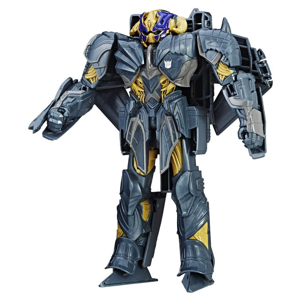 Transformers: The Last Knight - Turbo Changer armadura de caballero - Megatron