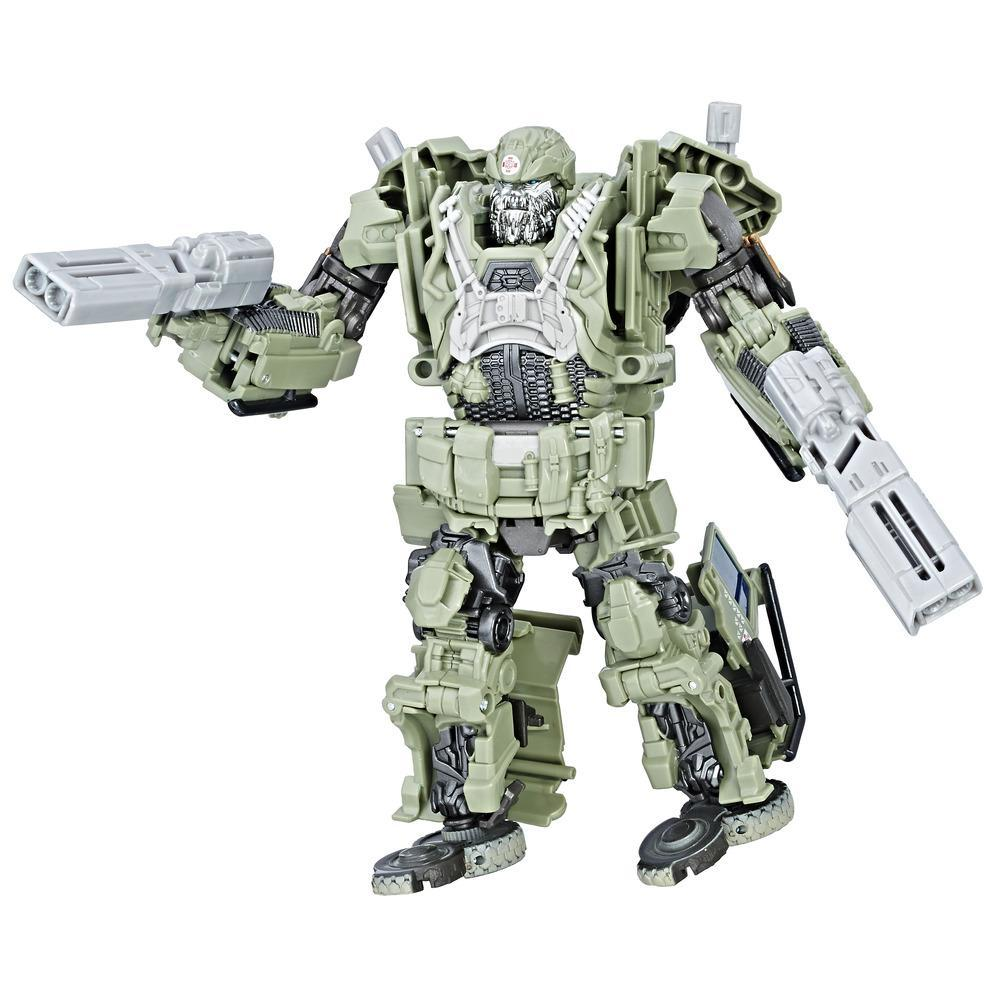 Transformers: The Last Knight Premier Edition Autobot Hound Clase viajero