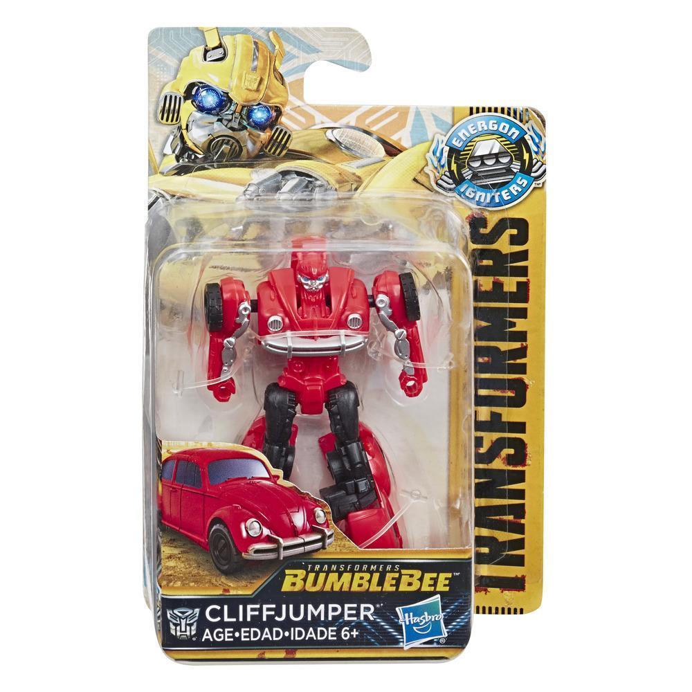 Transformers: Bumblebee - Energon Igniters Serie Veloz - Figura de acción Cliffjumper – Juguetes para chicos