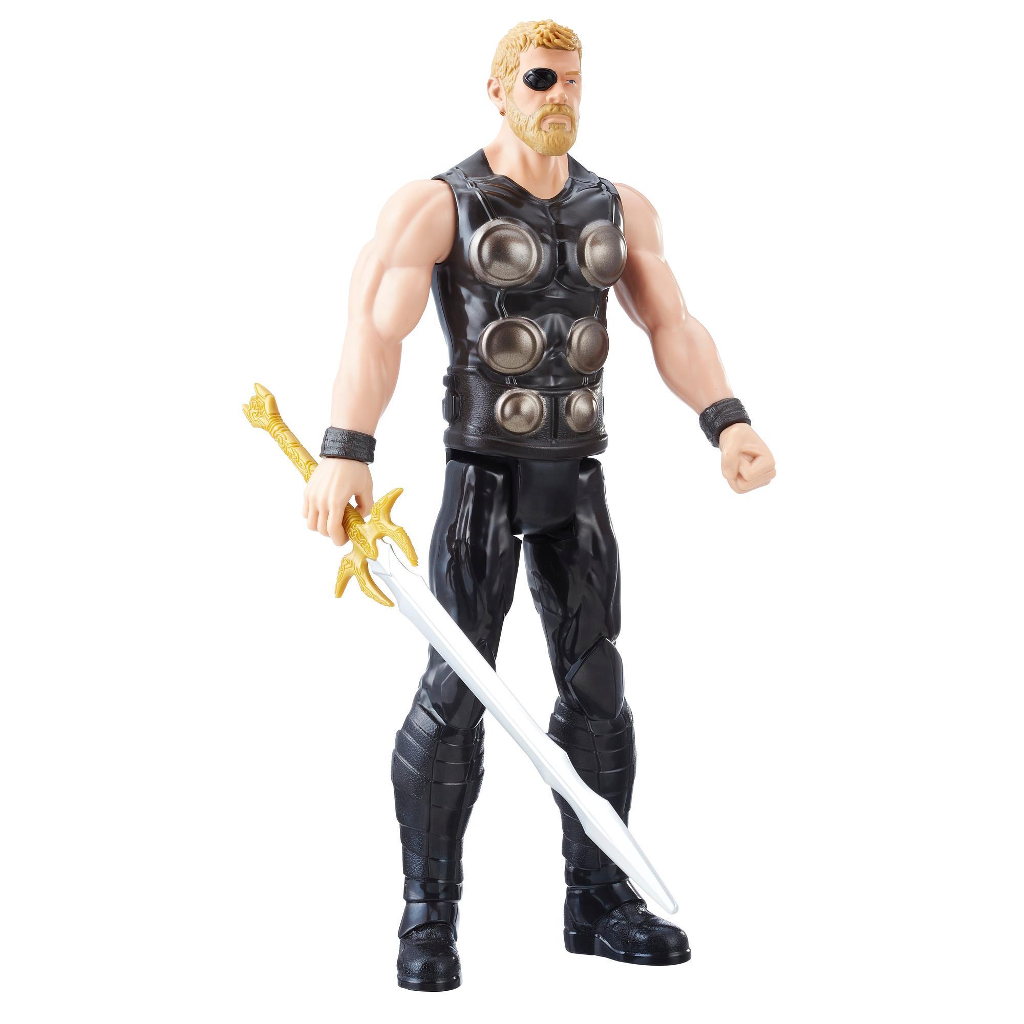 Marvel Infinity War Titan Hero Series - Thor con puerto para Titan Hero Power FX