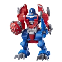 Playskool Heroes Transformers Rescue Bots - Optimus Prime Caballero guardia