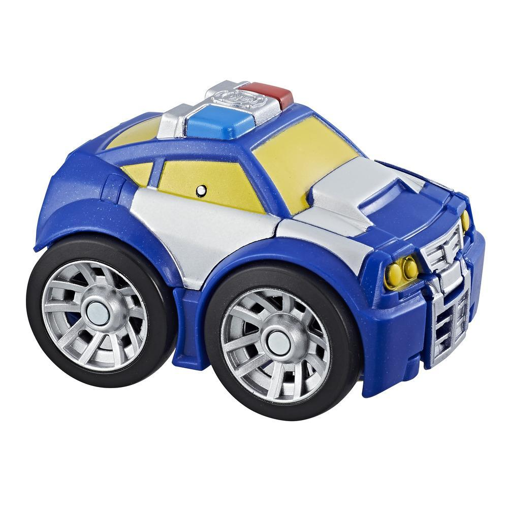 Playskool Heroes Transformers Rescue Bots - Flip Racers Chase el robot policía