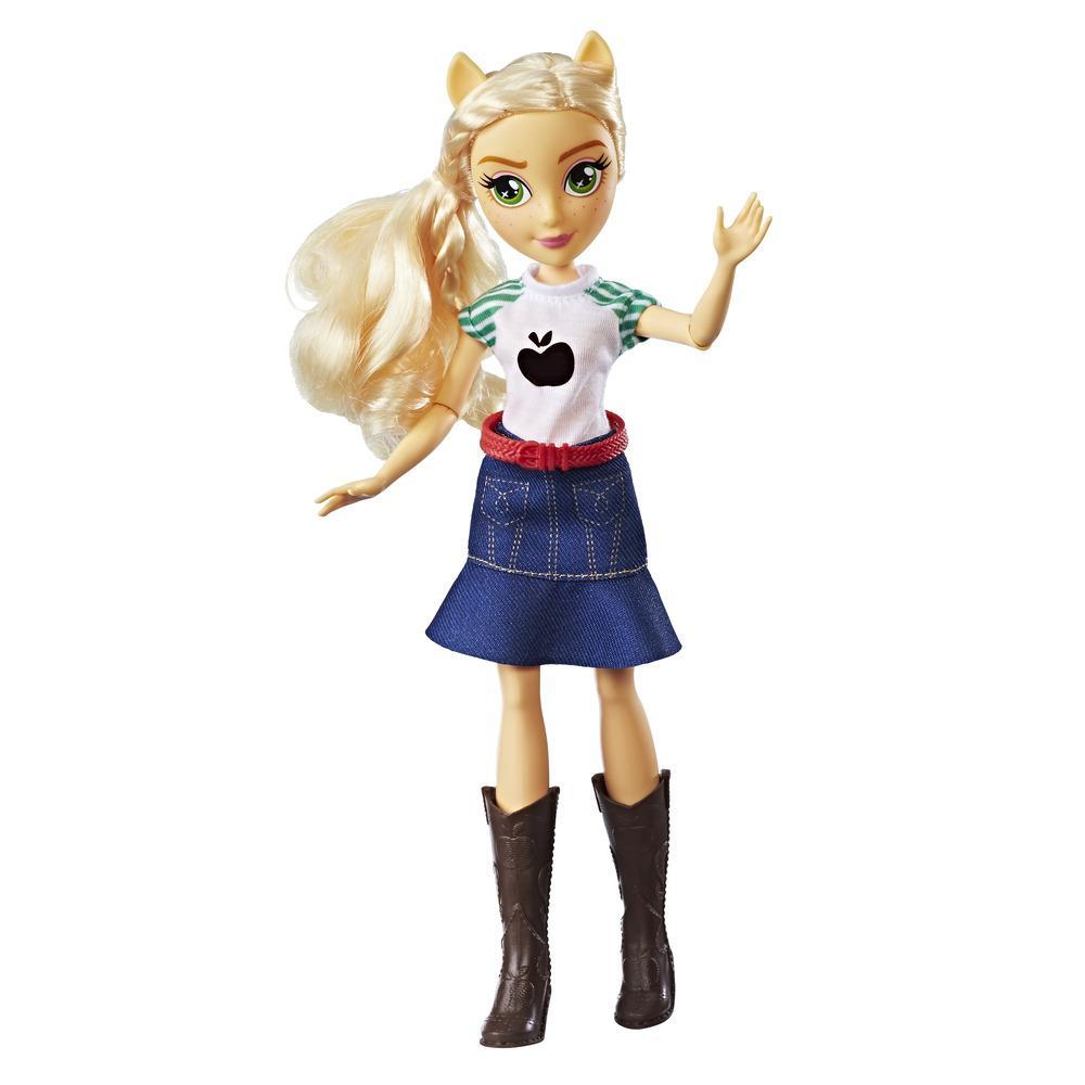 My Little Pony Equestria Girls Applejack - Muñeca estilo clásico