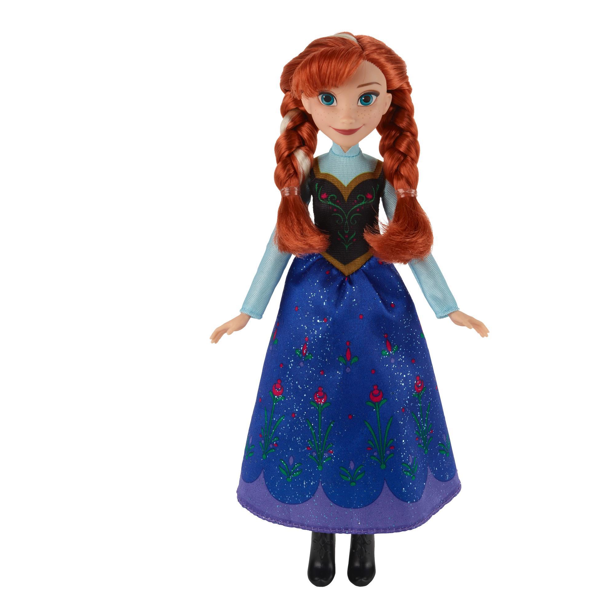Anna Moda Clásica de Frozen Una aventura congelada de Disney
