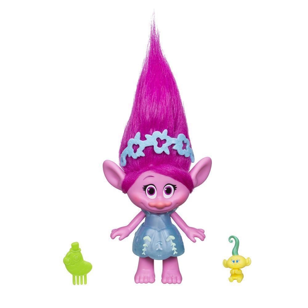 DreamWorks Trolls Poppy y bebé Troll