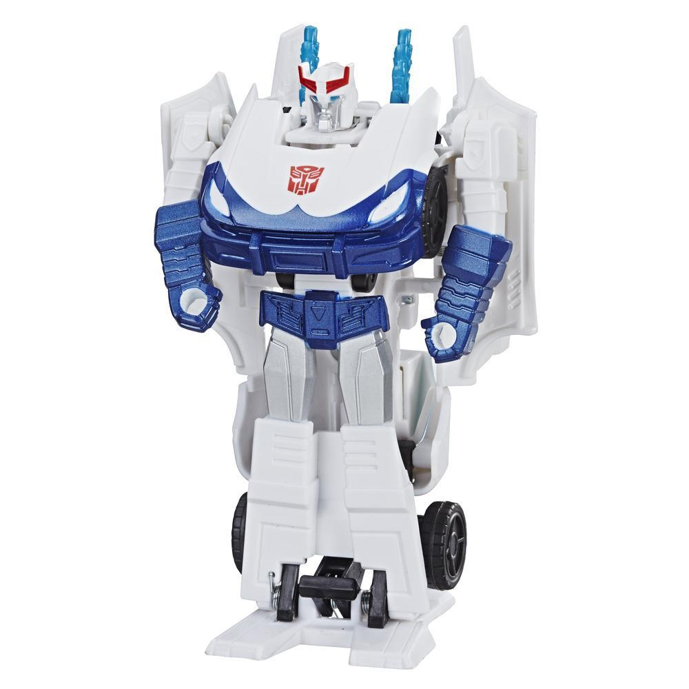 Transformers Cyberverse Action Attackers - Prowl Cambiador de 1 paso - Figura de acción