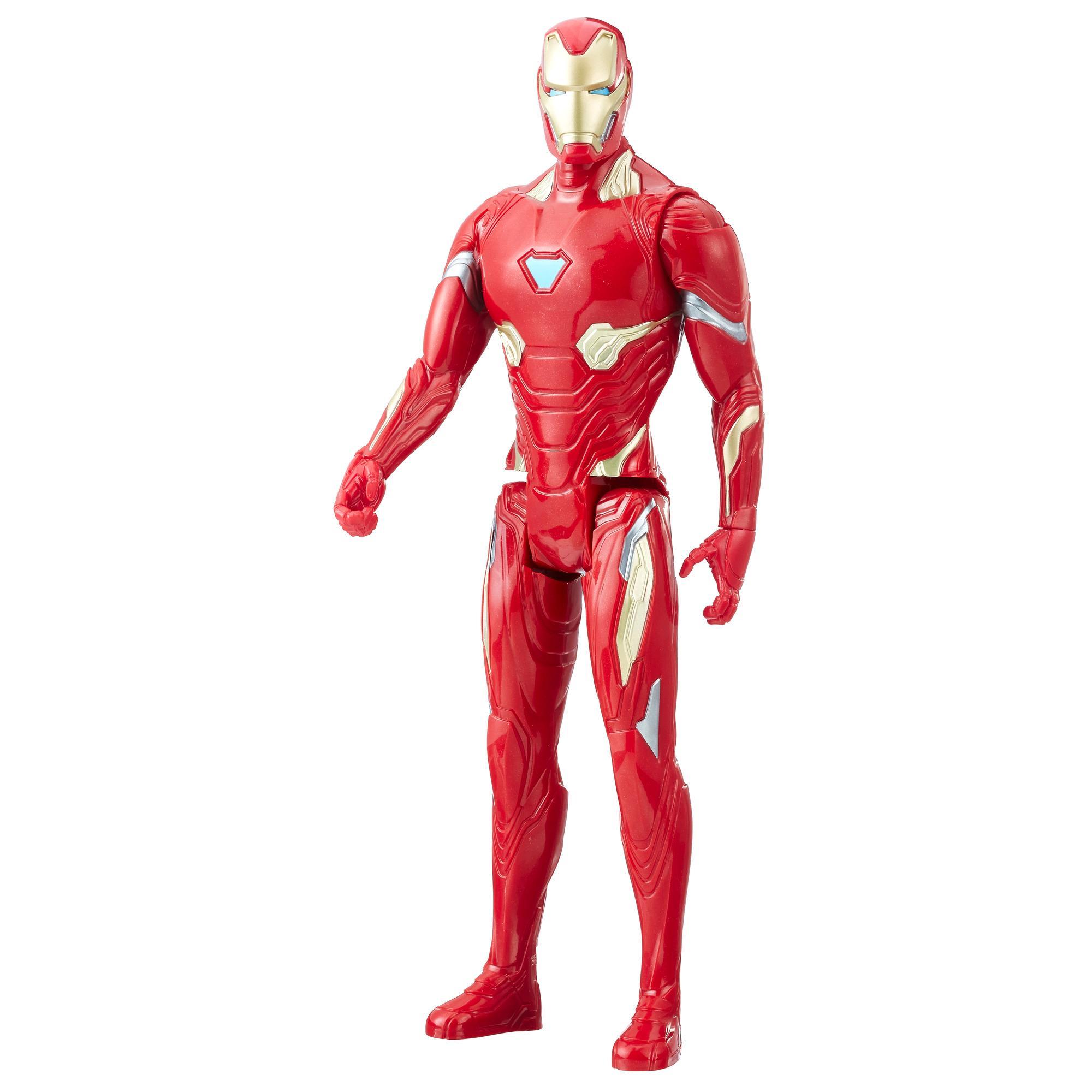 Marvel Infinity War Titan Hero Series - Iron Man con puerto para Titan Hero Power FX