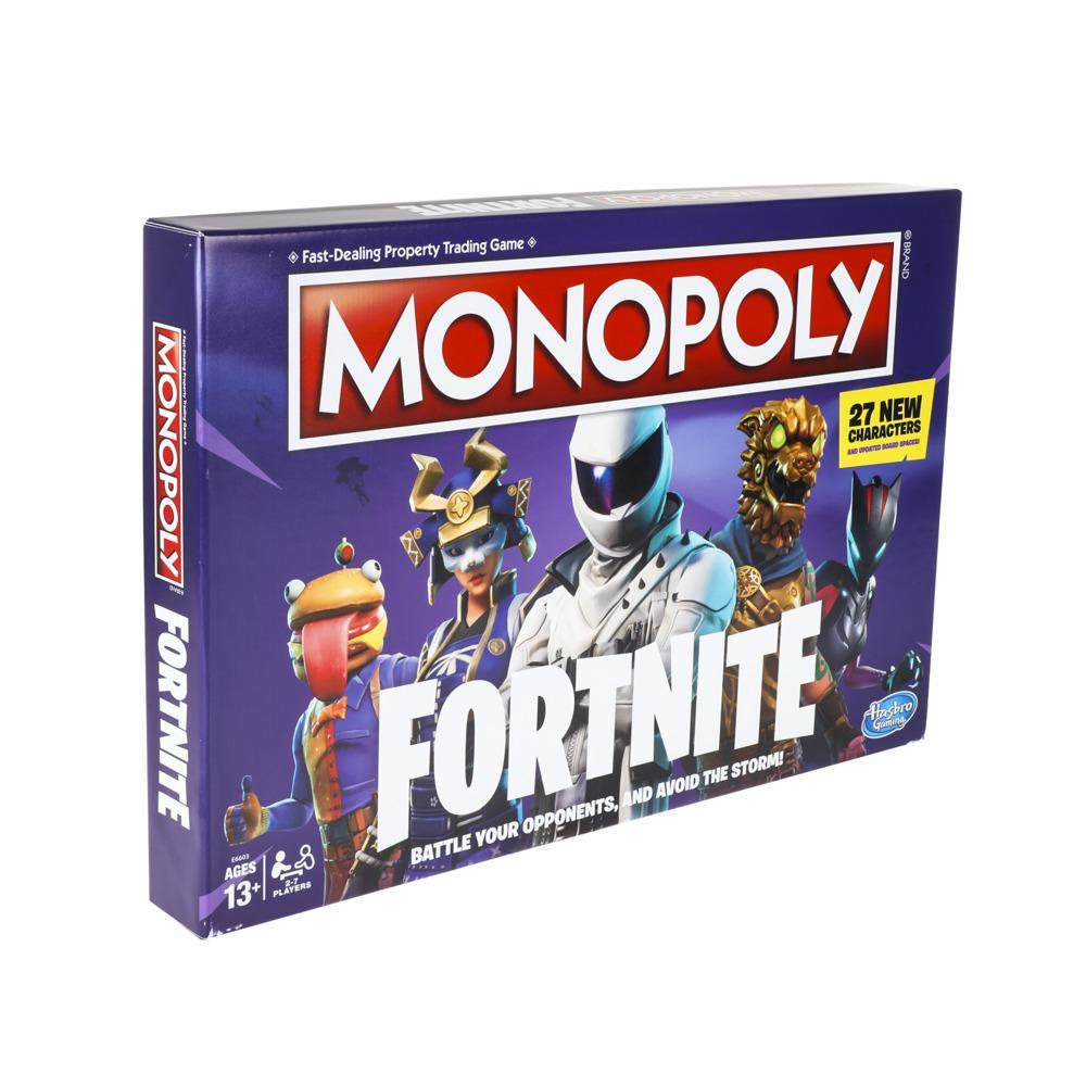 Monopoly Fortnite - Juego de mesa basado en el videojuego Fortnite - Edad recomendada: 13 años en adelante