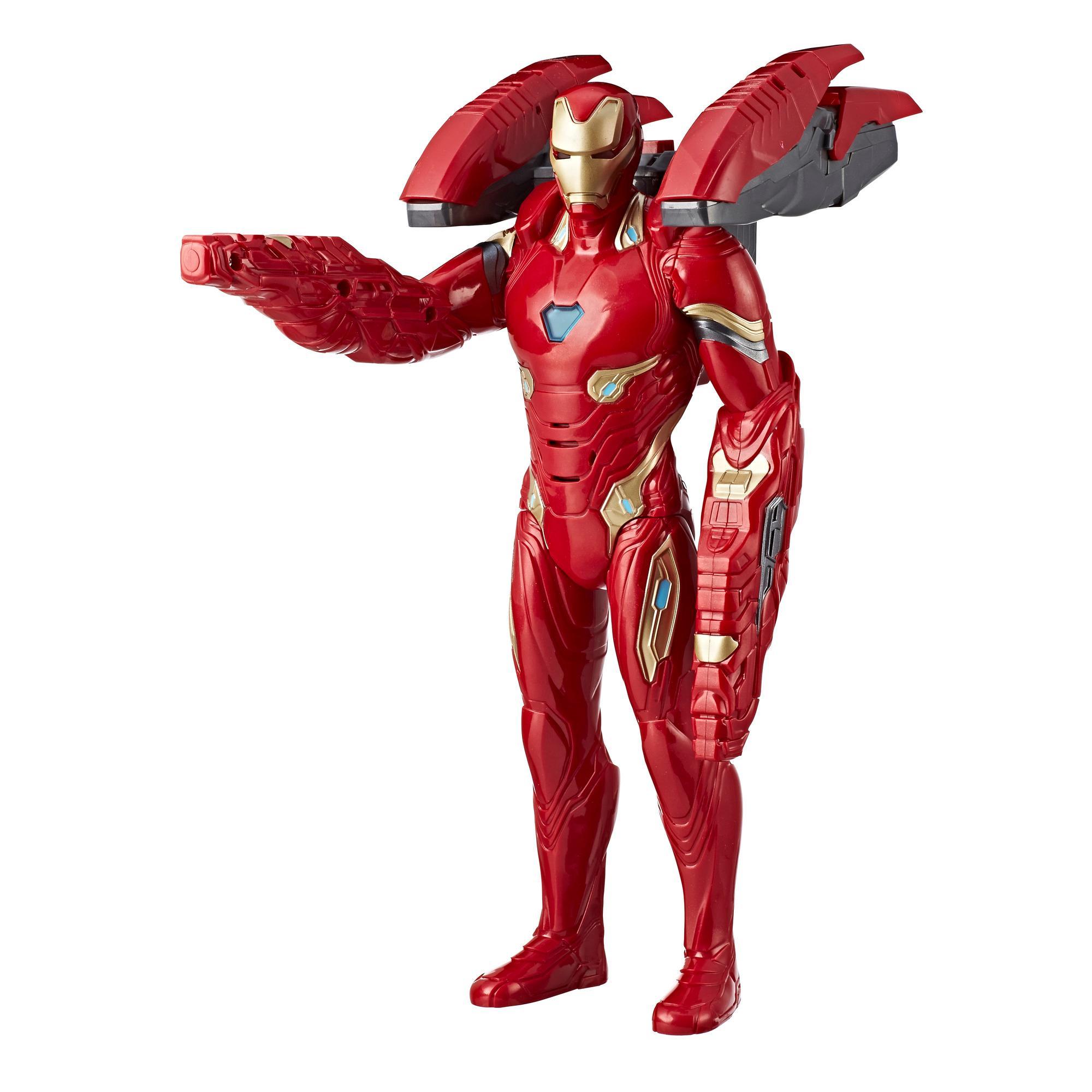 Marvel Avengers: Guerra del Infinito - Figura de Iron Man Tecnomisión