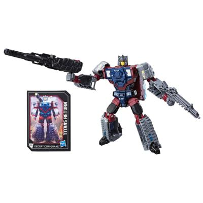 Transformers Generations Titans Return - Decepticon Quake y Chasm