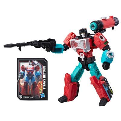 Transformers Generations Titans Return - Autobot Perceptor y Convex