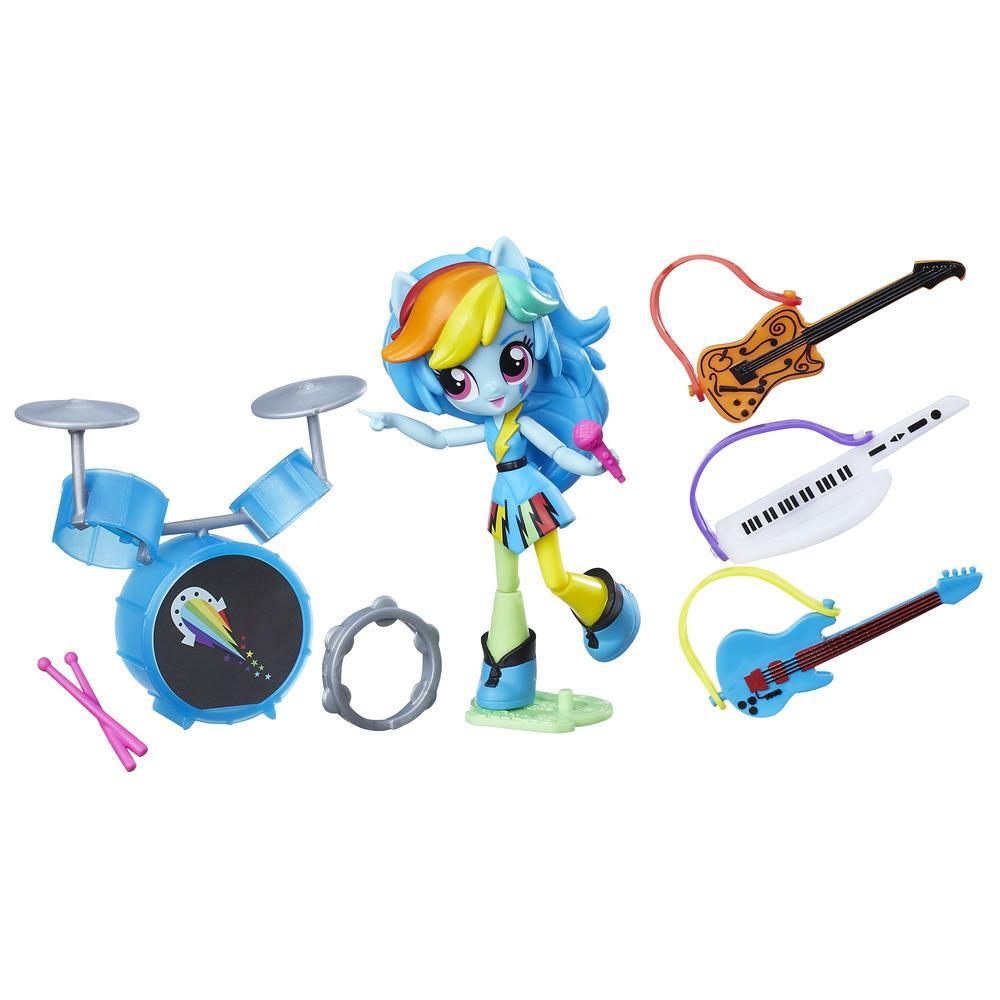My Little Pony Equestria Girls Minis Rainbow Dash Rockin' Music Class Set