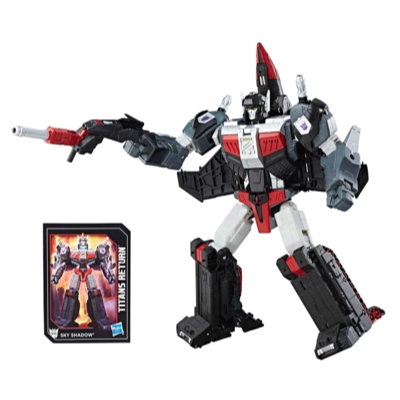 Transformers Generations Titans Return - Sky Shadow y Ominus