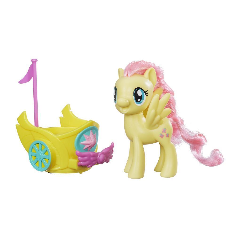 My Little Pony Carro real giratorio de Fluttershy