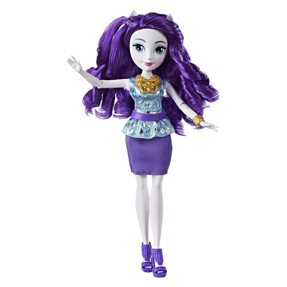 My Little Pony Equestria Girls Rarity - Muñeca estilo clásico