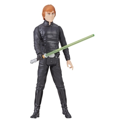 Star Wars Galaxy of Adventures - Figura de Luke Skywalker y minihistorieta