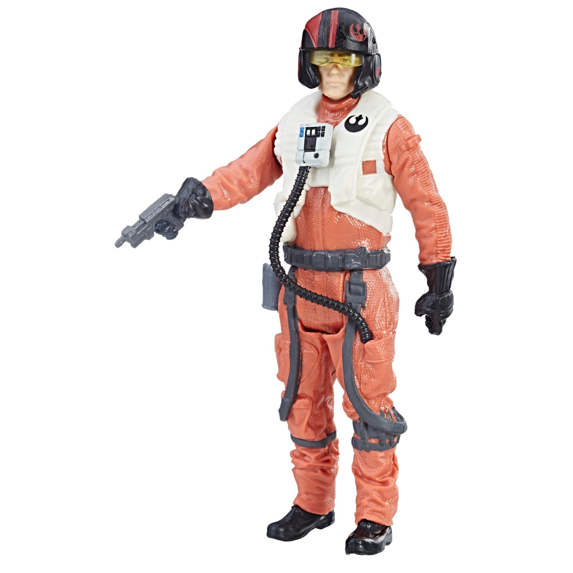 Star Wars - Poe Dameron (Piloto de la Resistencia) Figura Force Link