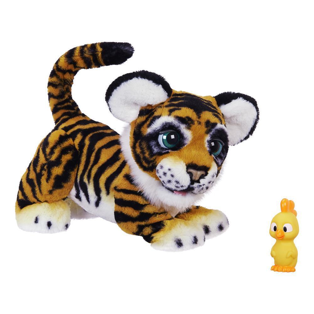 furReal Lino felino el tigre juguetón