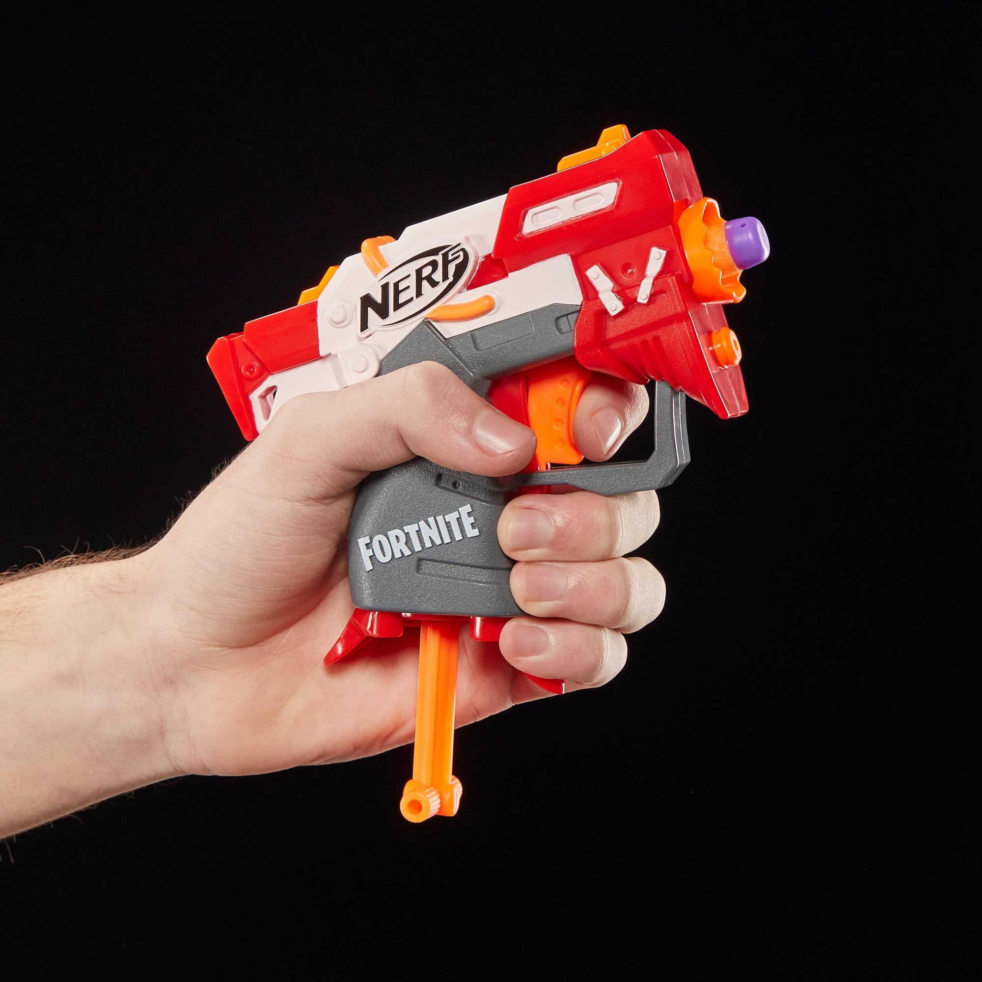 Lanzadardos de juguete TS Nerf MicroShots