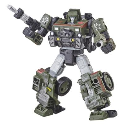 Transformers Generations War for Cybertron: Siege - Figura de acción WFC-S9 Autobot Hound clase de lujo