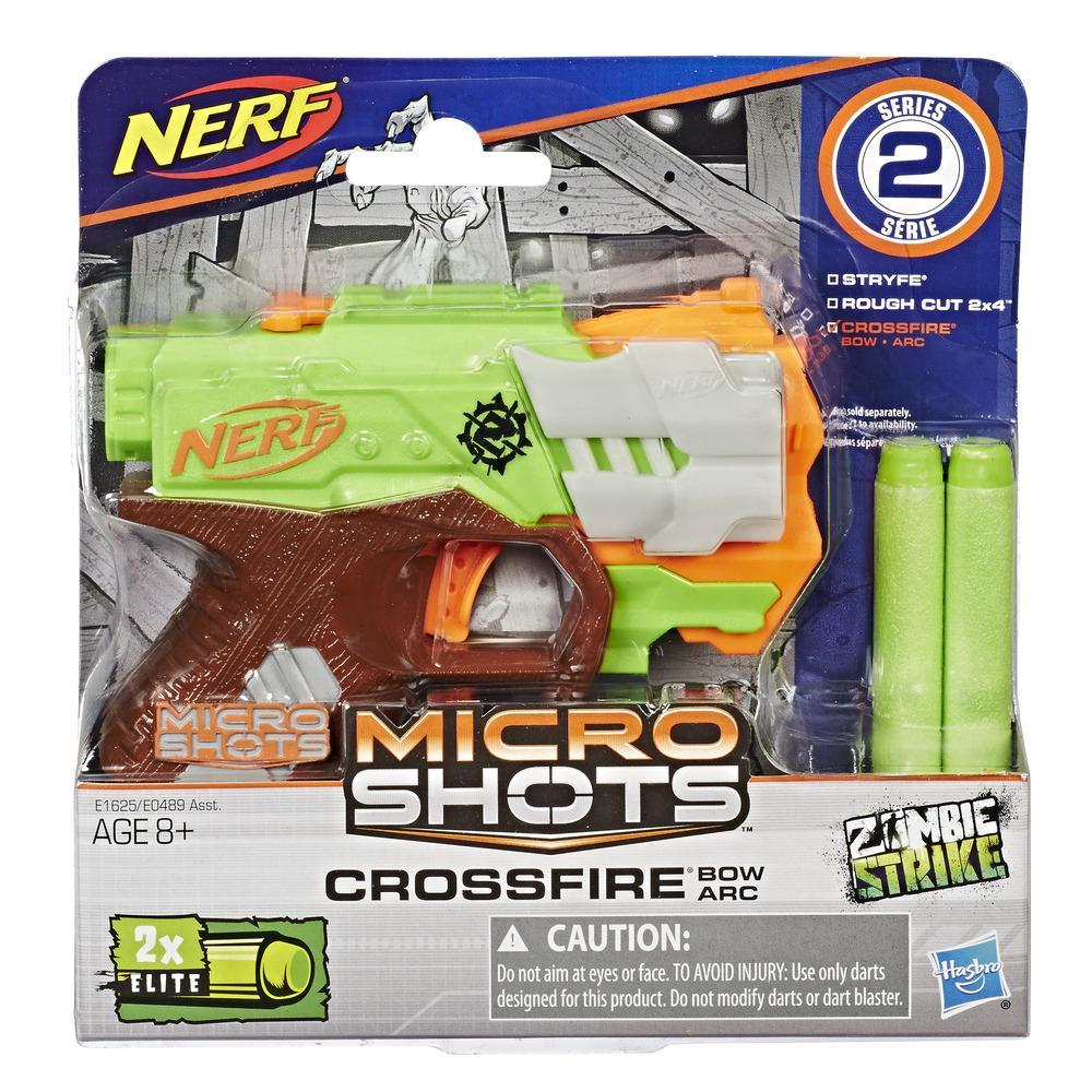 Ballesta Crossfire Nerf MicroShots Zombie Strike