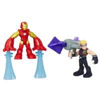 Playskool Heroes Marvel Super Hero Adventures - Iron Man y Marvel's Hawkeye