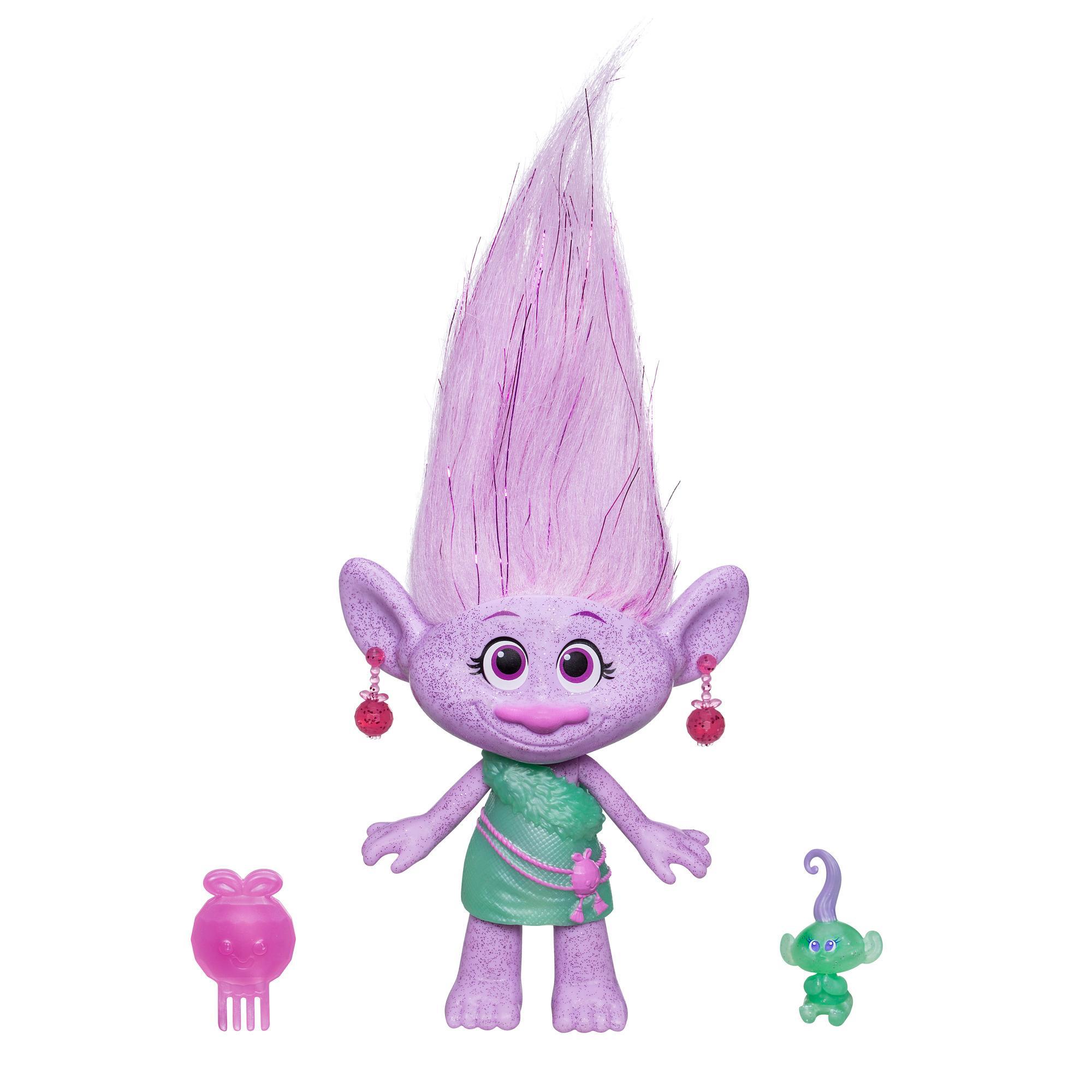 DreamWorks Trolls Gia Grooves y bebé Troll