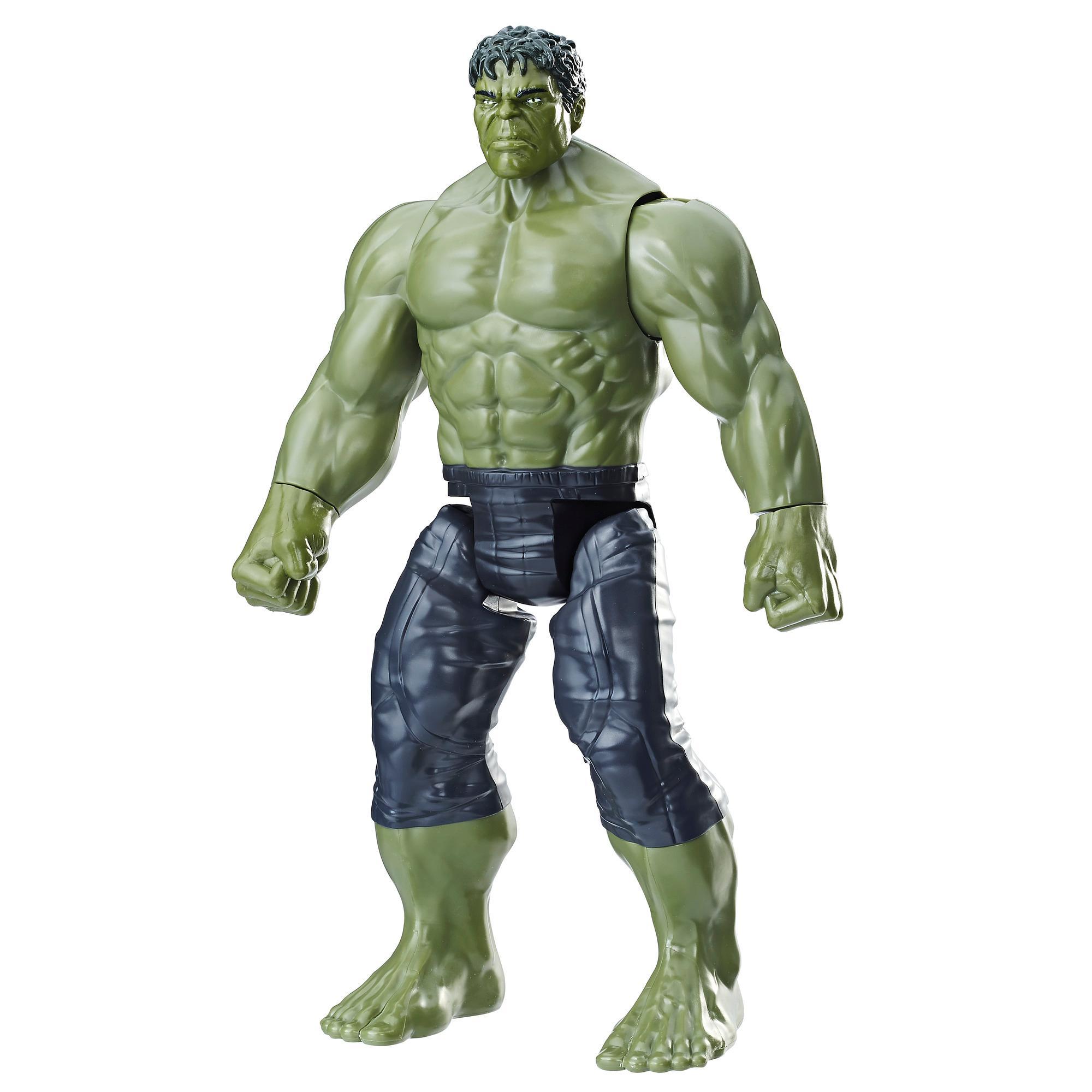 Marvel Infinity War Titan Hero Series - Hulk con puerto para Titan Hero Power FX