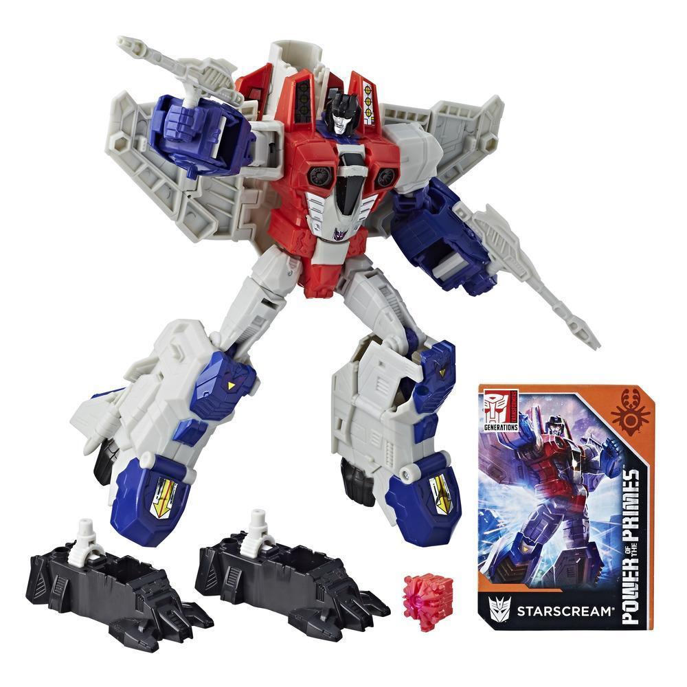Transformers: Generations -  Poder de los Primes - clase viajero - Starscream