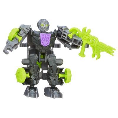 Figura de acción armable de Lockdown de Dinobot Riders de Bots para construir de la Era de la Extinción de Transformers