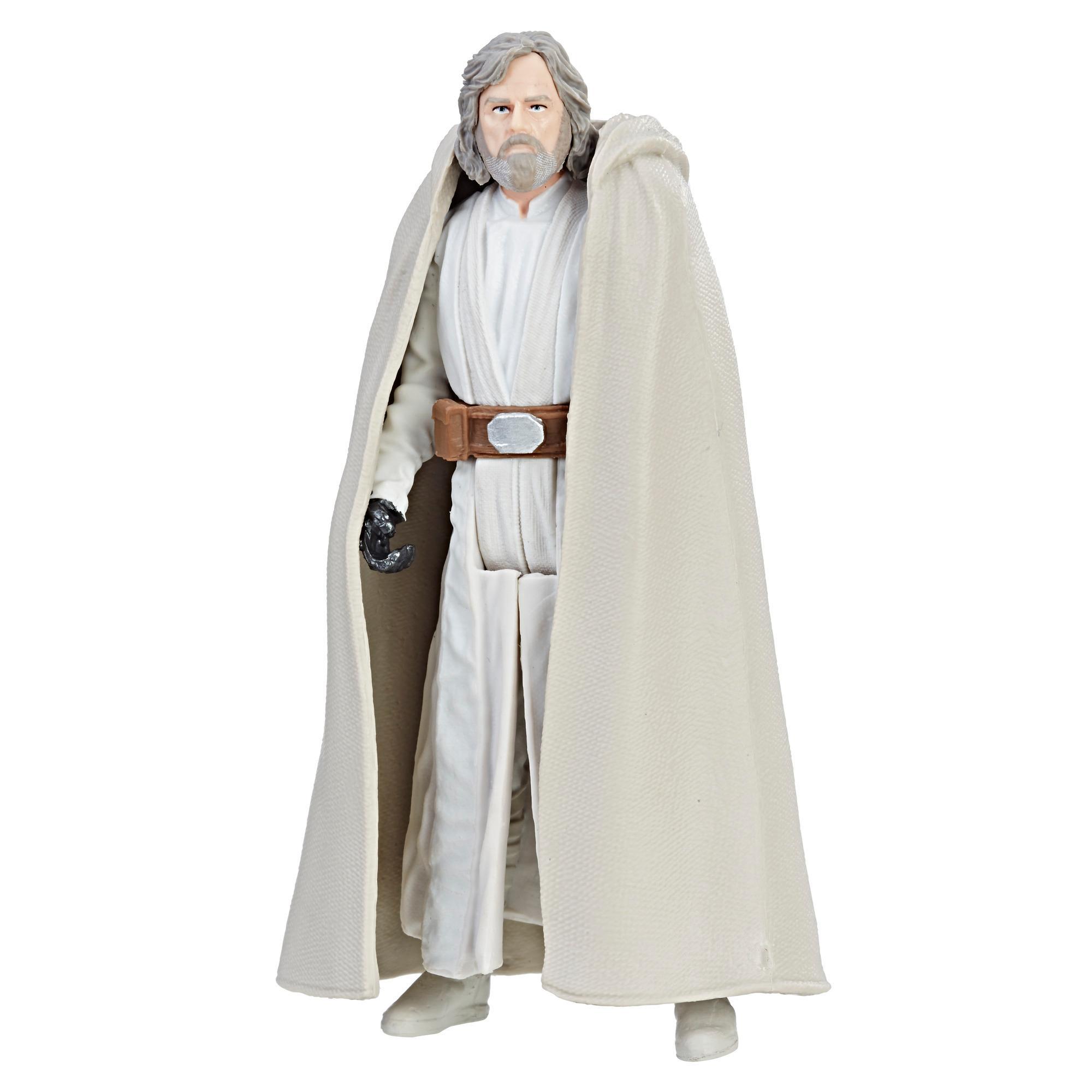 Star Wars - Luke Skywalker (Maestro Jedi) - Figura Force Link