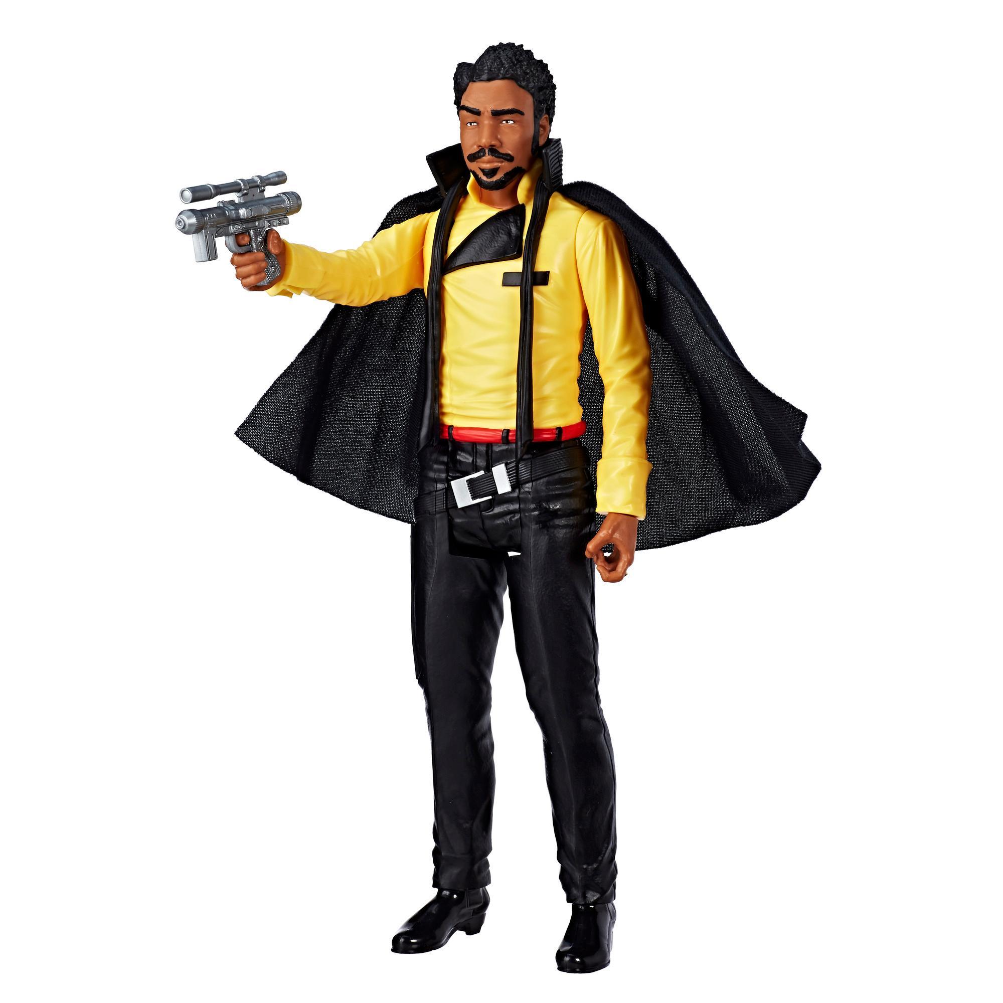 Han Solo: Una historia de Star Wars - Figura de Lando Calrissian de 30 cm