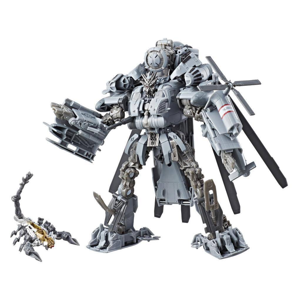 Transformers Studio Series 08 - Decepticon Blackout clase líder Película 1