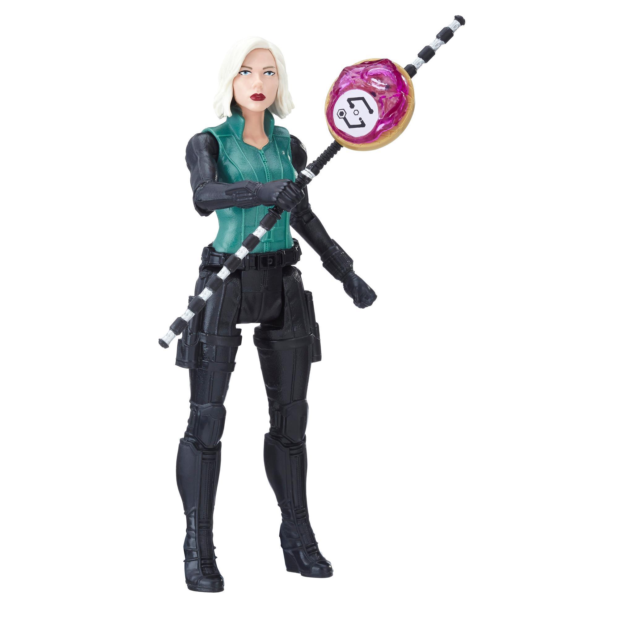 Marvel Avengers: Guerra del Infinito -  Black Widow con Gema del Infinito