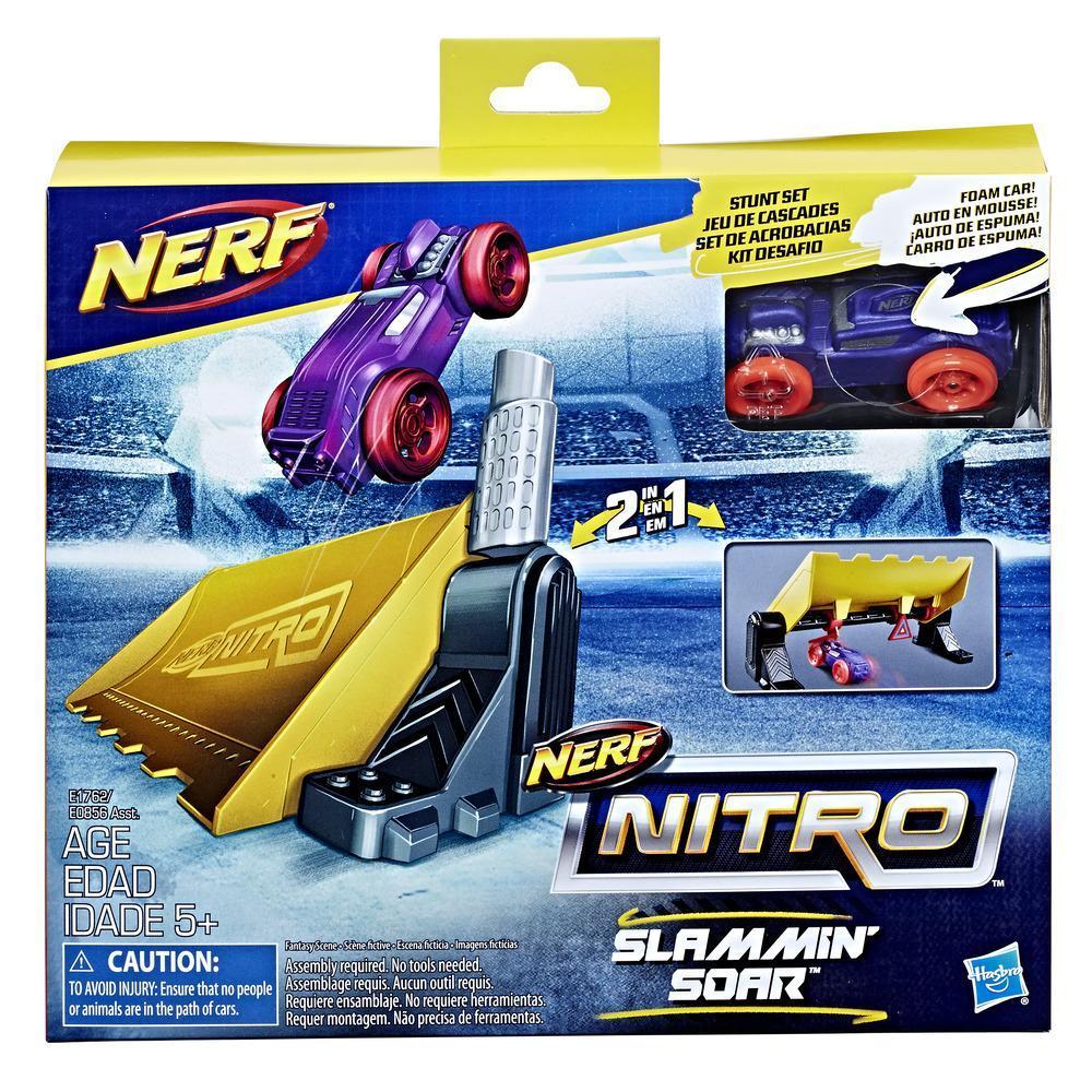 Nerf Nitro - Slammin' Soar - Set de acrobacias