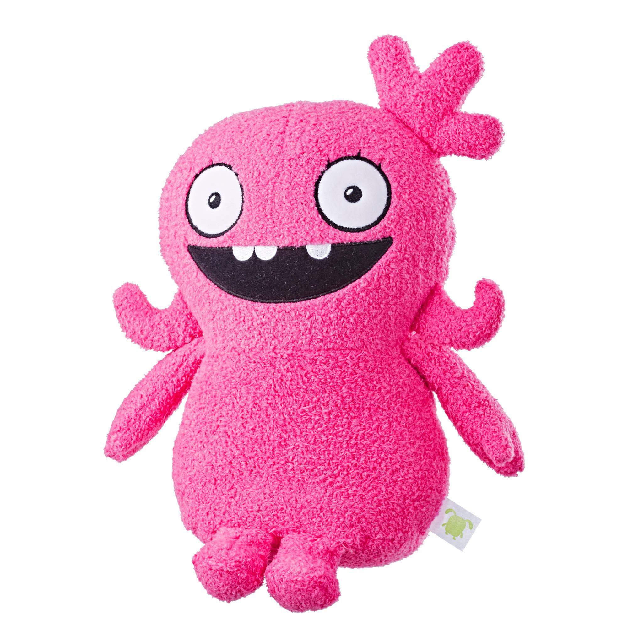 UglyDolls Moxy sonora, juguete de peluche con sonidos, 29 cm de alto